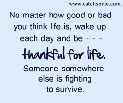 no-matter-how-good-or-bad-you-think-life-is-wakeup-each-day-and-be-thankful-for-life-someone-somewhere-else-is-fighting-to-survive-1
